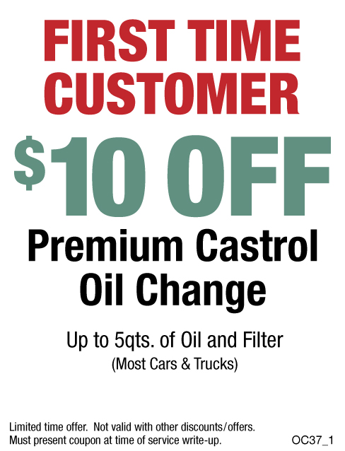 $10 Off First Time Customer