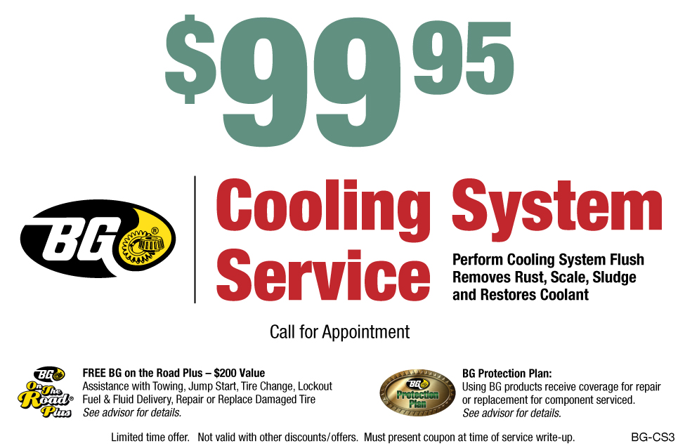 Coolant System Services - Sterling Tire and Auto: Sterling