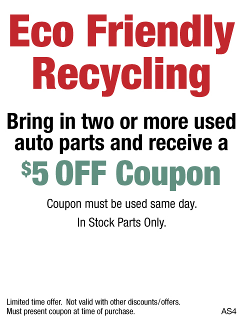 Eco Friendly Recycling $10 Off
