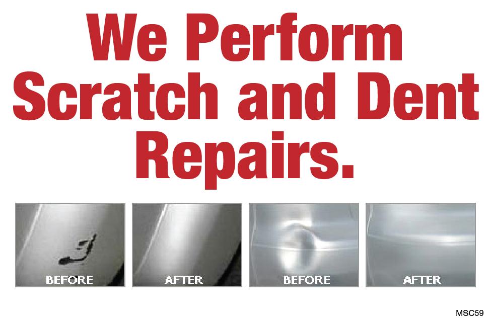 Scratch & Dent Repair