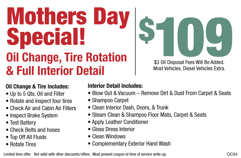 Mothers Day Special!