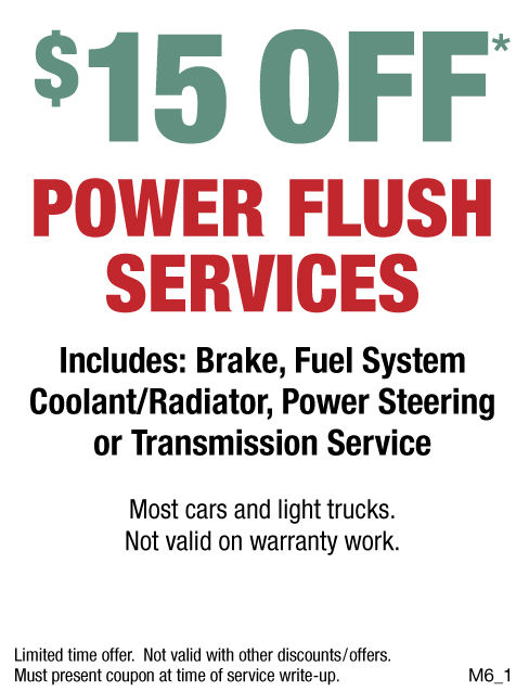 Power Flush Services $15 Off