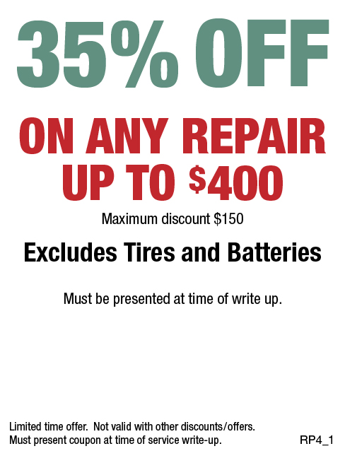 35% Off Any Repair Upto $400