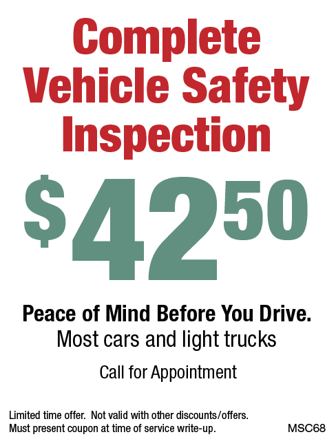 Complete Vehicle Safety Inspection