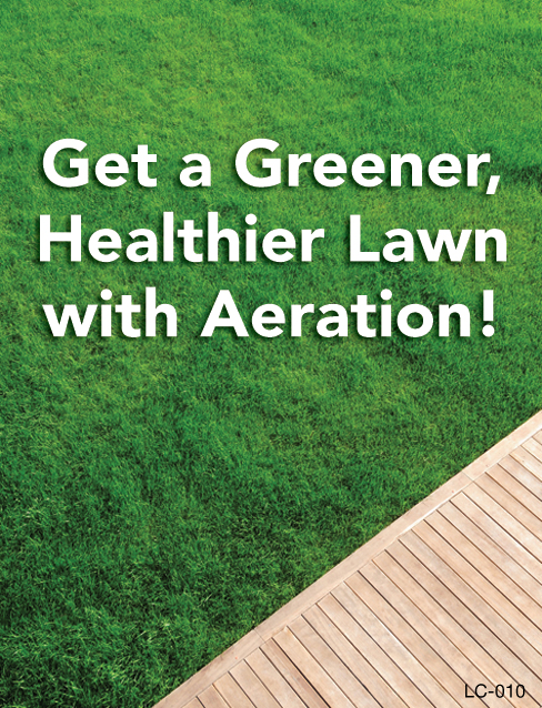 Get a Greener, Healthier Lawn with Aeration!