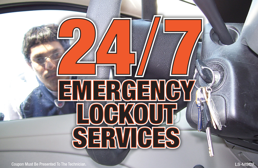 24/7 Emergency Lockout Services