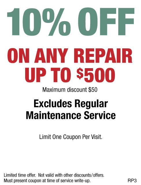 10% OFF Any Repair Up To $500