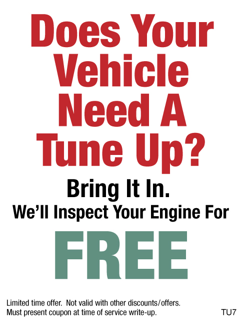 Need A Tune-Up Well Inspect It For FREE