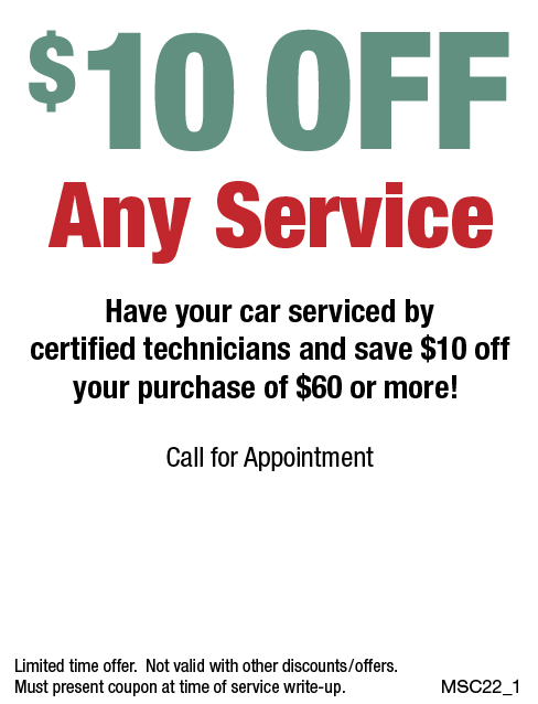 $10 OFF Any Service Over $60