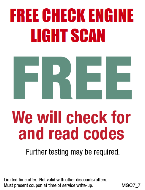 Check Engine Light FREE