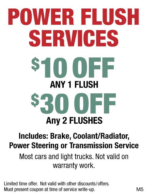 Power Flush Services $10 OFF