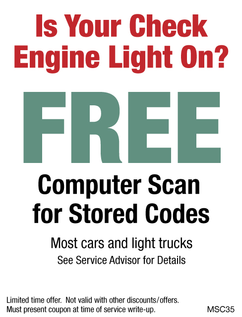 FREE Computer Scan
