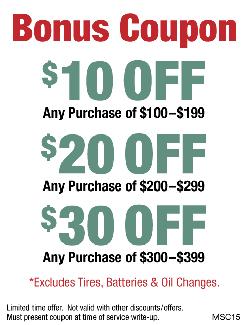 $10/$20/$30 OFF Any Purchase
