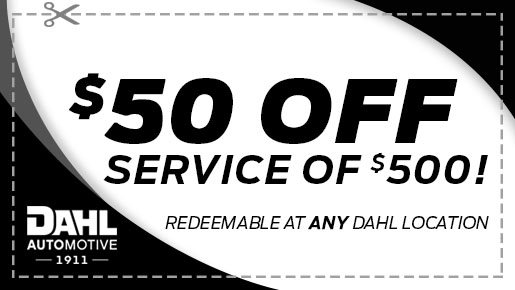 $50 Off Service over $500