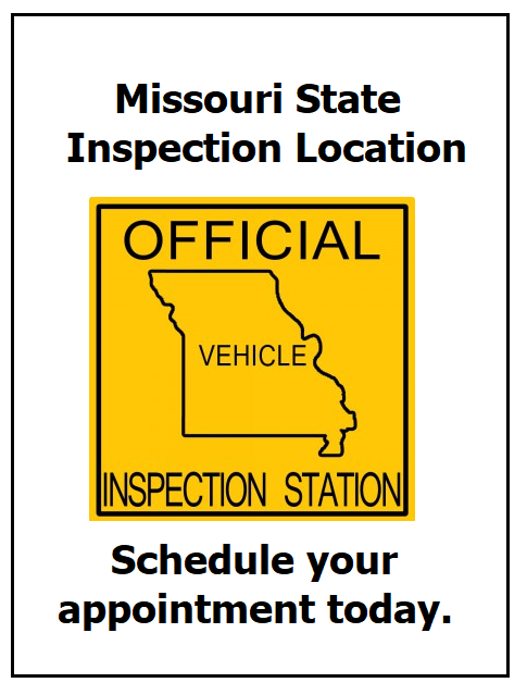 State inspection sticker