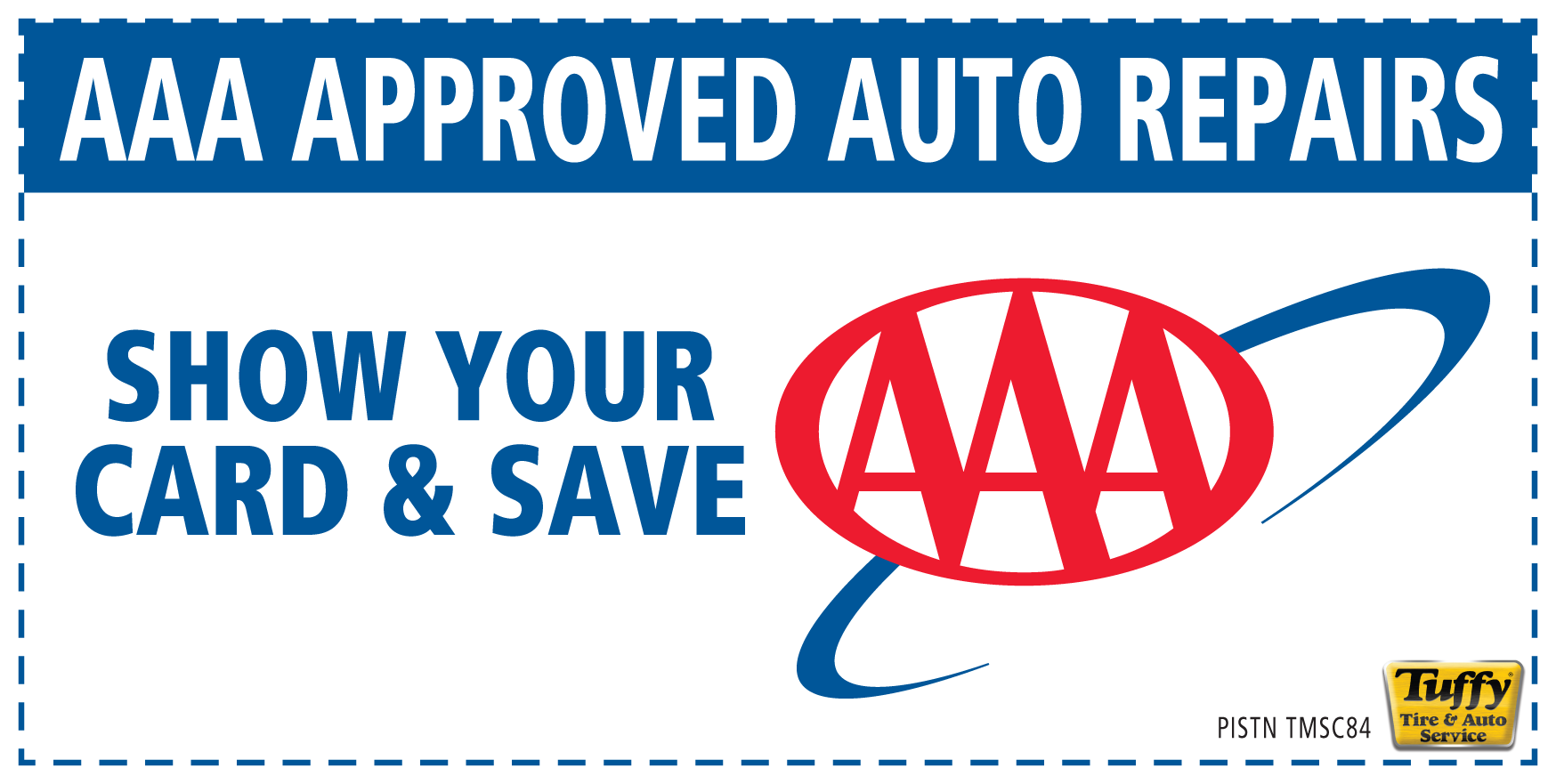AAA Approved Auto Repairs (Show Card & Save)