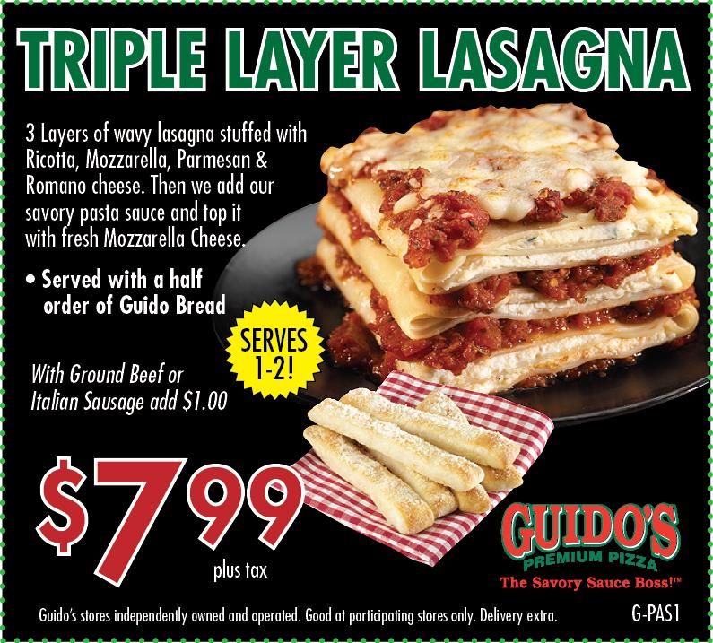 G pas1 triple lasagna 7.99