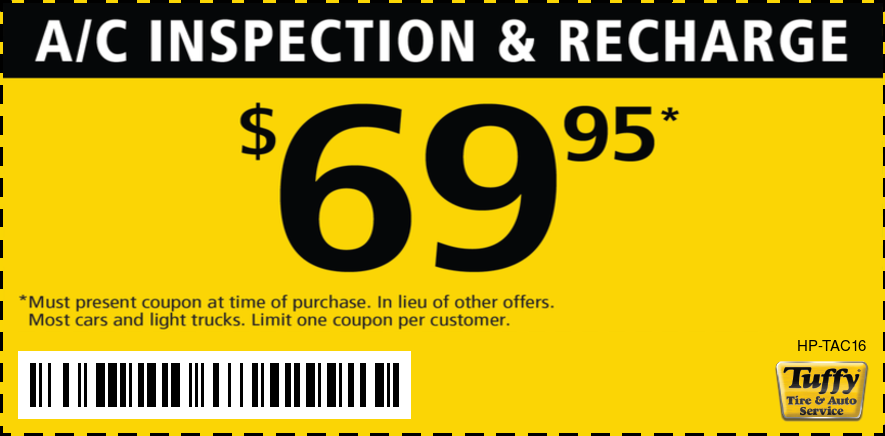 AC Inspection & Recharge $69.95