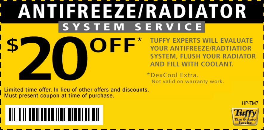 Radiator System Service $20 OFF