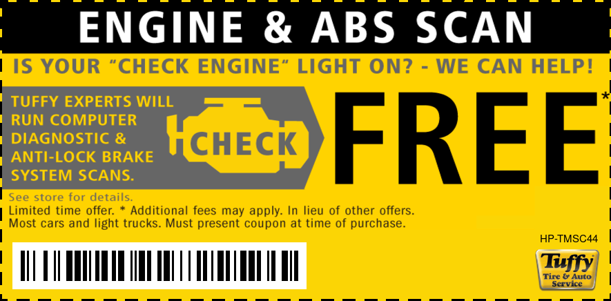FREE Engine Check Light Service