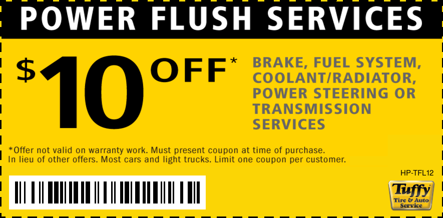 $10 OFF Power Flush Services
