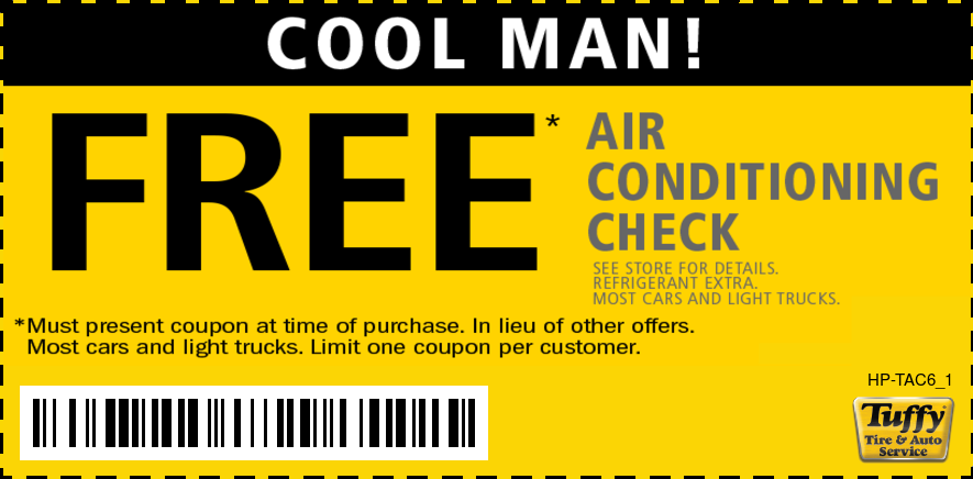 FREE Air Conditioning Check