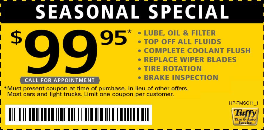 Seasonal Special $99.95