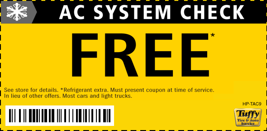 FREE A/C System Check