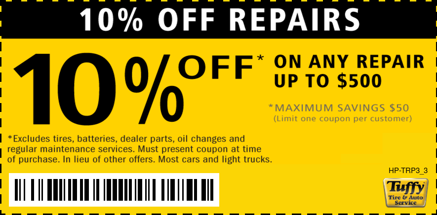 10% Off Any Repair Up To $500 (Max Savings $50)
