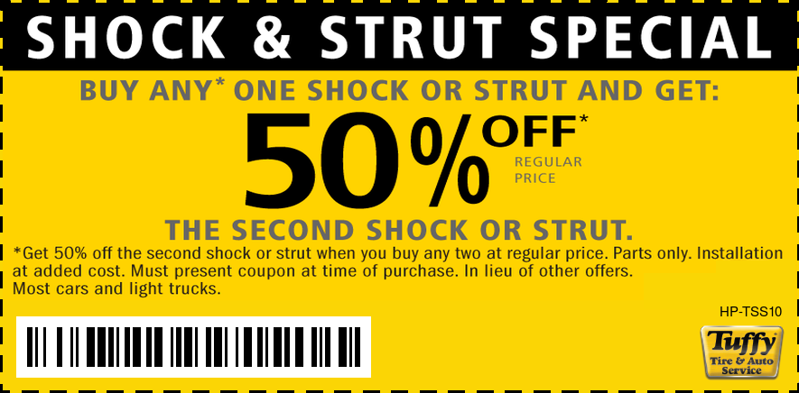 Shock And Strut Special Buy 1 Get 2nd 50% OFF