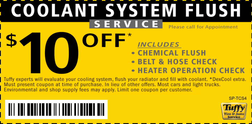 Coolant System Services - Tuffy Tire and Auto Service Center