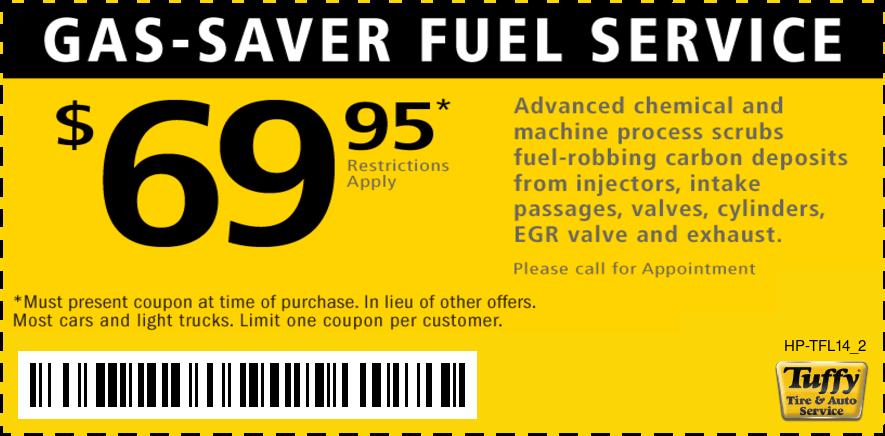 Fuel Service $69.95