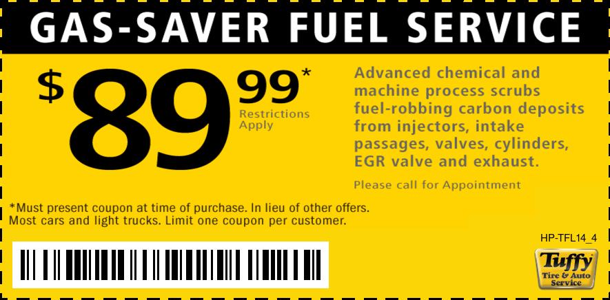 Fuel Service $89.99
