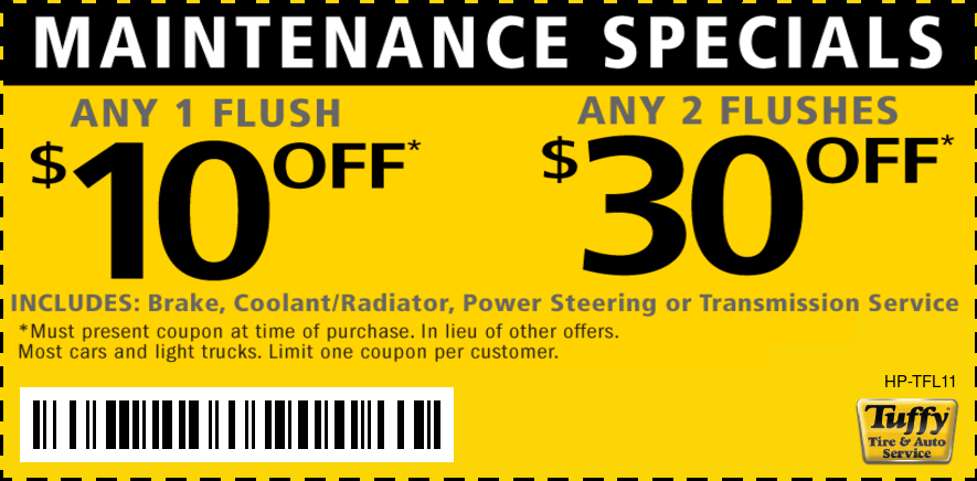 Power Flush Services $10 OFF Any 1/$30 OFF Any 2
