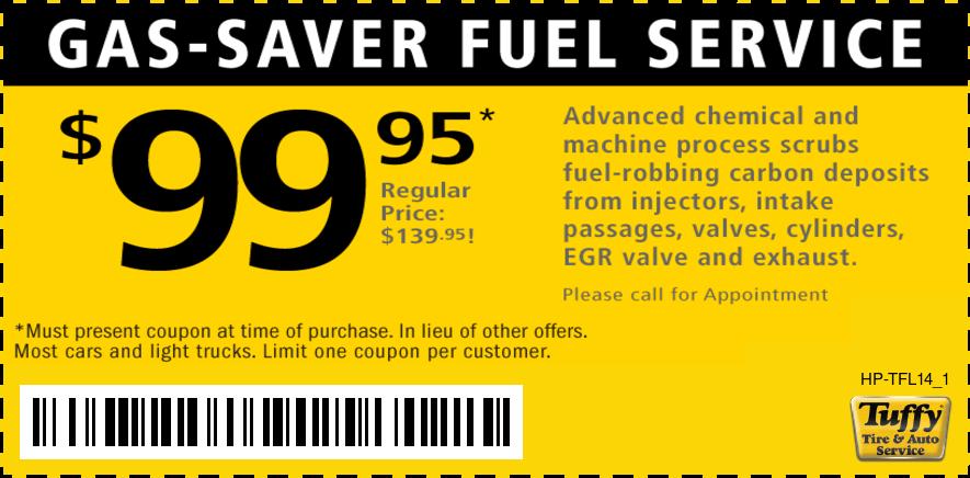 $99.95 Fuel Service
