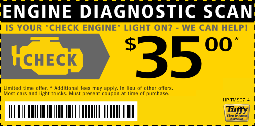 Engine Check Light Scan $35