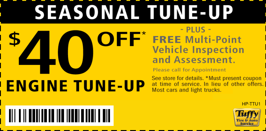 Tune-Up Get Ready For Spring $40 OFF