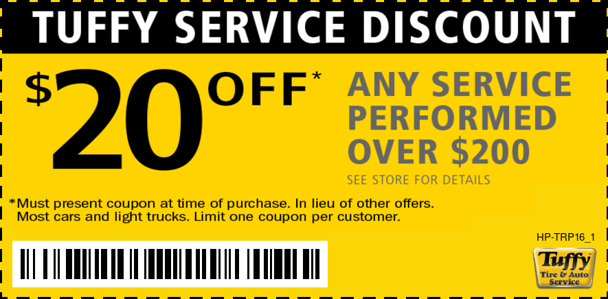 $20 OFF Any Service Performed Over $200