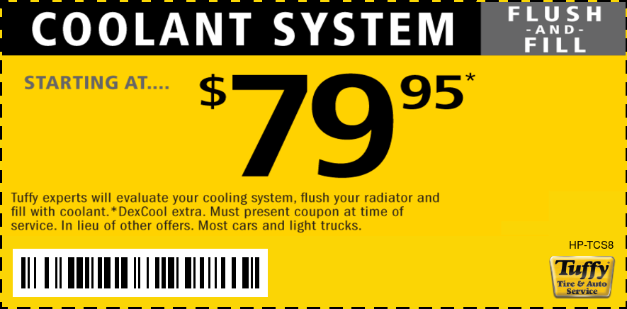 Coolant System Flush & Fill Starting At $79.95