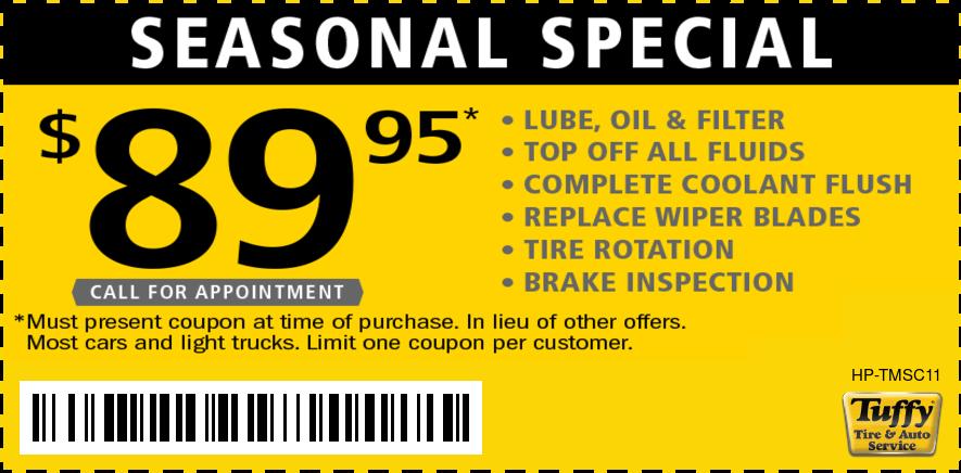 Seasonal Special $89.95