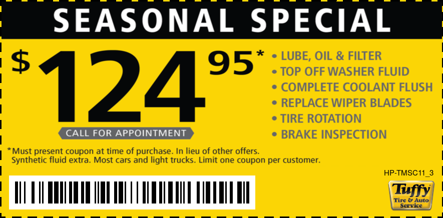 Seasonal Special $124.95 (Call for Appointment)