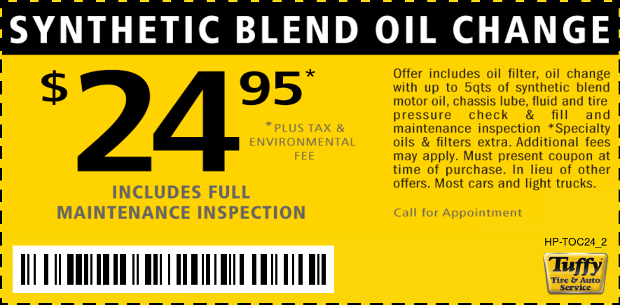 $24.95 Synthetic Blend