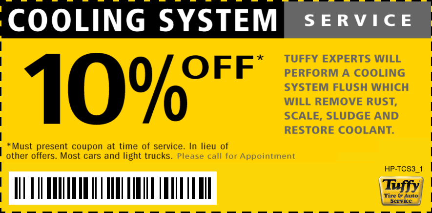 10% OFF Cooling System Service