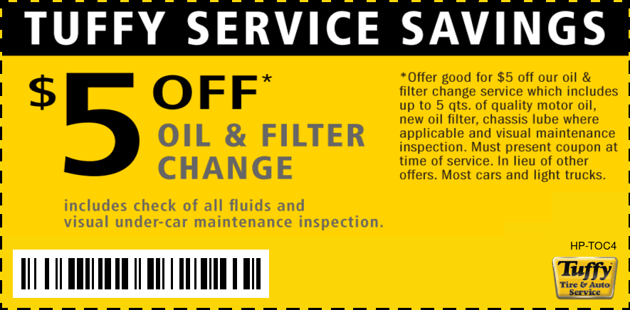 Oil Change $5 OFF