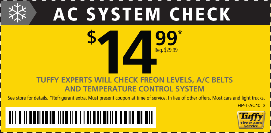 AC System Check $14.99