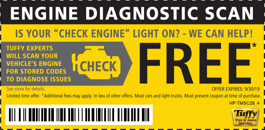FREE Engine Diagnostic Scan