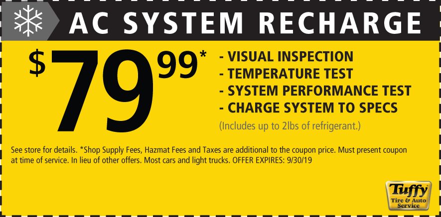 AC System Recharge $79.99