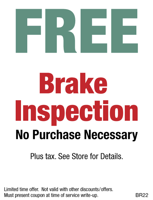 Free Brake Inspection - Hal's Auto Clinic Northville