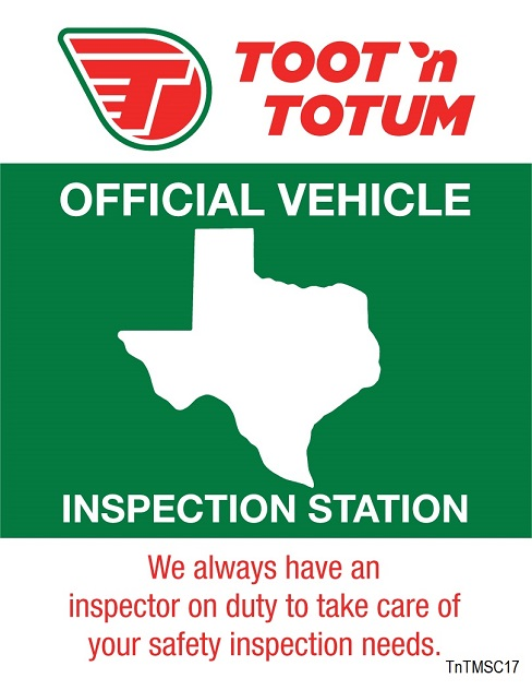 TnT Texas State Inspection