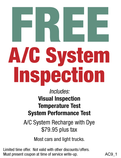 Free A/C Inspection